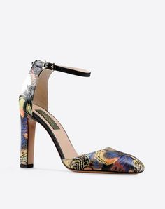 VALENTINO Camubutterfly Ankle Strap