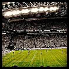Seattle Sounders vs Portland Timbers - #mls #soccer - 1-0 Sounders - Largest crowd for mls soccer in Seattle - Almost 68,000