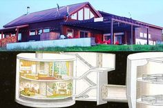10 Amazing Underground Homes | Steel, House and Architecture