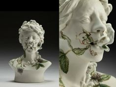 Viral Seriesas, Surreal Ceramic Sculptures by Jess Riva...
