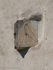 Cadran solaire Séderon Drôme Provençale provence drome http://www.bien-etre-drome.com/