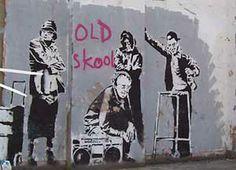 Banksy -old -skool