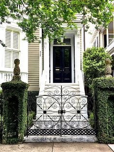 Historic Charleston gate pattern!
