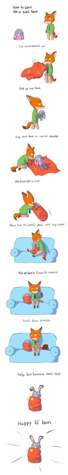 How to take care of bun by DaniiScream.deviantart.com on @DeviantArt