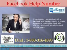 Call Facebook help number 1-850-316-4893 to get all your problems fixed within a short span of time.  A great many customer bases call at Facebook help number in order to benefit an extensive variety of Facebook help which is exceptionally intended to weed out your issues. In the event that you need to take boundless help, you can call at 1-850-316-4893 sans toll helpline number at whatever time from anyplace. Best of all, you can benefit the boundless guide in a matter of seconds. For More…