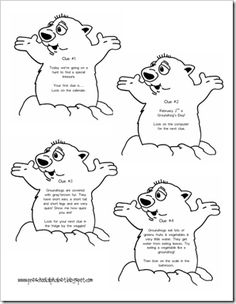 ground hog treasure him by Preschool Alphabet