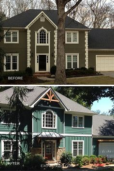 Yes, stucco can be removed and replaced! Many homeowners are opting for low-maintenance, worry-free fiber cement siding, like HardiePlank from James Hardie. | EXOVATIONS | Atlanta, Georgia Home Remodeling Contractor