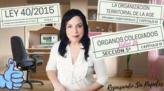 ÓRGANOS COLEGIADOS LEY 40/2015 [Vídeo 26] Temario Administrativo del Est...