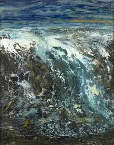"thunderstruck9: "" Maggi Hambling (British, b. 1945), High Summer Sea, 2005. Oil on canvas, 53 x 40.5 cm. """