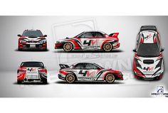 Subaru projekt livery design