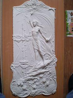 Барельеф в деталях.Учимся Создавать БАРЕЛЬЕФ 3d Wall Art, Mural Art, Sculpture Clay, Wall Sculptures, Plaster Art, Tile Art, Clay Art, African Art, Architecture Art