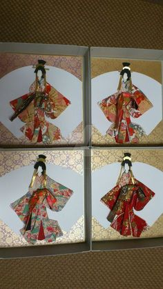 Oiran japanese paper doll by pechaningyou
