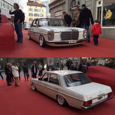 Mercedes-Benz, W116 - Strich Acht