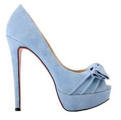 Christian Louboutin Madame Butterfly 150 Pumps Blue