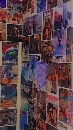 Indie Room Decor, Cute Room Decor, Aesthetic Room Decor, Aesthetic Collage, Aesthetic Grunge, Aesthetic Vintage, Blue Aesthetic, Hipster Bedroom Decor, Indie Bedroom