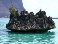 Mauritius island, located in Mauritius