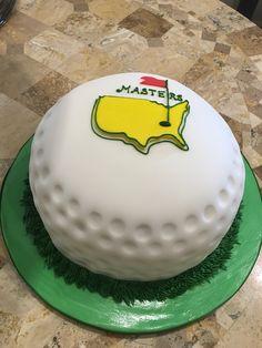 the master golfer Golf First Birthday, Golf Birthday Cakes, Golf Cakes, Birthday Ideas, Golf Grooms Cake, Golf Ball Cake, Golf Baby, Golf Betting, Golf Tips Driving
