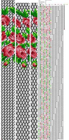 Фотографии Рисуем схемы для жгутов из бисера, вышивки и др. Bead Crochet Patterns, Beading Patterns, Cross Stitch Designs, Cross Stitch Patterns, Beaded Banners, Crochet Rope, Tear, Cross Stitch Flowers, Brick Stitch