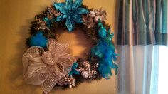 Wreath I put together for a friend.