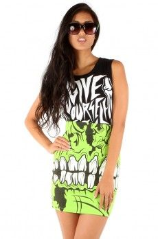 Zombie Chomper Mini Skirt ❤ Green $45 #ironfistclothing #ironfist #iron #fist #iron fist #Shoes #Apparel #Accessories #Fashion #Womens #Ladies #Girls #Dresses #Sweaters #Shirts #T-shirts #Leggings #Style #Sexy #Cool #Punk #Goth #Alternative #Cute #Boots #Platforms #Flats #Heels #Wedges #Sneakers #Sale #Shop #Beauty #Party #mens www.ironfistclothing.com