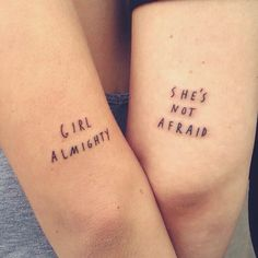 girl almighty, she's not afraid