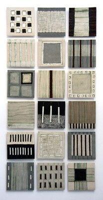 Clare Crouchman - ceramic wall panel