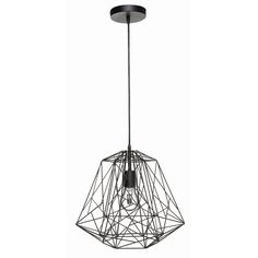 Brilliant 38.5cm 60W Black Matrix Pendant Light I/N 7071354 | Bunnings Warehouse