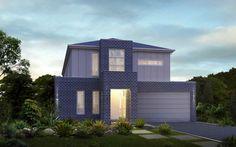 Metricon Home Designs: The Laguna - Contemporary Facade. Visit www.localbuilders.com.au/builders_victoria.htm to find your ideal home design in Victoria