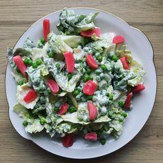 Mormor salat Brunch, Granola, Cobb Salad, Dressing, Yoghurt, Granola Cereal, Muesli, Brunch Party