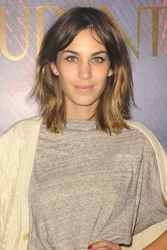 Alexa Chung's new hair colour trend