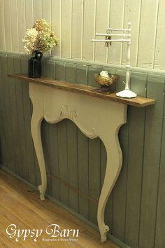 repurposed washstand harps, bathroom ideas, diy, fireplaces mantels, home decor, repurposing upcycling