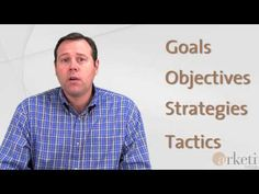 B2B Marketing Firm on Goals, Objectives, Strategies and Tactics