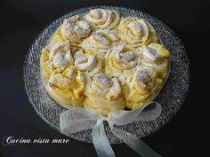 Torta delle rose Cucina vista mare