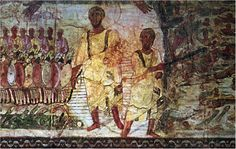 A few random images of Rome's catacombs frescoes Early Christian, Christian Art, Black History Facts, Art History, Rome Catacombs, Parting The Red Sea, Arte Judaica, Black Hebrew Israelites, Historical Artifacts