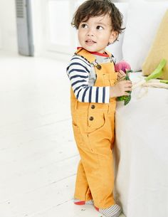 Classic Cord Overalls 72168 Rompers & Overalls at Boden