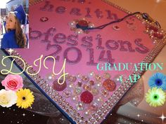 How To Decorate A Graduation Cap Tutorial!!* Might come in handy