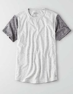 AEO Flex Crew T-Shirt, White | American Eagle Outfitters