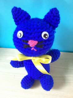 Gattino tutto blu