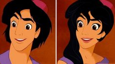 """Genderbent Disney"" by TT Bret"