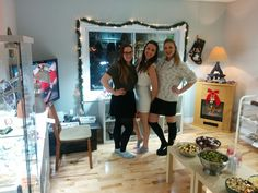Memories from the Crystal Dreams Shop christmas celebration!