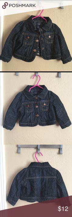 Baby Gap denim jacket✨ Very good condition! Classic baby gap denim jacket with snap on buttons. So cute! 👶 GAP Jackets & Coats