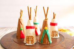 Sugar Cone Teepee Kid's Thanksgiving Party Recipe