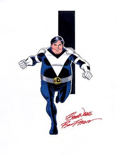 Bouncing Boy of the Legion of Super-Heroes by Ron Frenz - LSH DC Comics