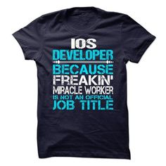 iOS Developer T-Shirt Hoodie Sweatshirts ouu