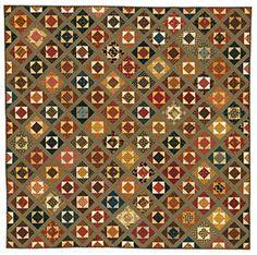 """jo morton's quilt. 160. 4 12"""" square ready to go"""