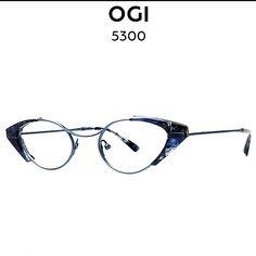 OGI 5300 Titanium 1415 Blue Marble/Blue   Mercari Sunglasses Accessories, Women's Accessories, Latest Fashion Design, Eye Shapes, Prescription Lenses, Eyewear, Marble, Blue, Eyeglasses