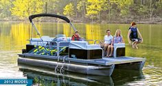 Lowe 2020 SS Series Super Sport Pontoons are the hottest & most versatile combination of party, watersport, fishing, and cruising boats on the water! Lowe Boats, Pontoon Boats For Sale, Fishing Boats For Sale, Deck Boats For Sale, Aluminum Jon Boats, Lake Camping, Family Adventure, Hunting, Sports
