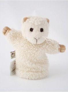 Marioneta de lana y algodón natural - 9,50€