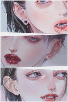 ラッコのあかちゃん (@1954love_hate_) / Twitter Aesthetic Drawing, Aesthetic Art, Aesthetic Anime, Pretty Art, Cute Art, Art Sketches, Art Drawings, 8bit Art, Poses References