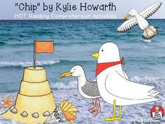 """Chip"" by Kylie Howarth is shortlisted for the 2017 Children's Book Council of Australia (CBCA) Awards - Early Childhood Book of the Year. This resource includes higher order reading comprehension activities to support the picture book. A copy of the picture book is not included with this resource and would be required."